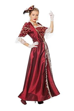 Femme Couleur Taille Marquise Bordeaux Deguisement Amazon 38 5qB61nxw