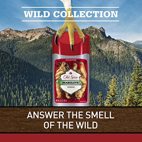 Old Spice Wild Scent Deodorant for Men, Bearglove, 3 Ounce, 3 Count by Old Spice (Image #1)