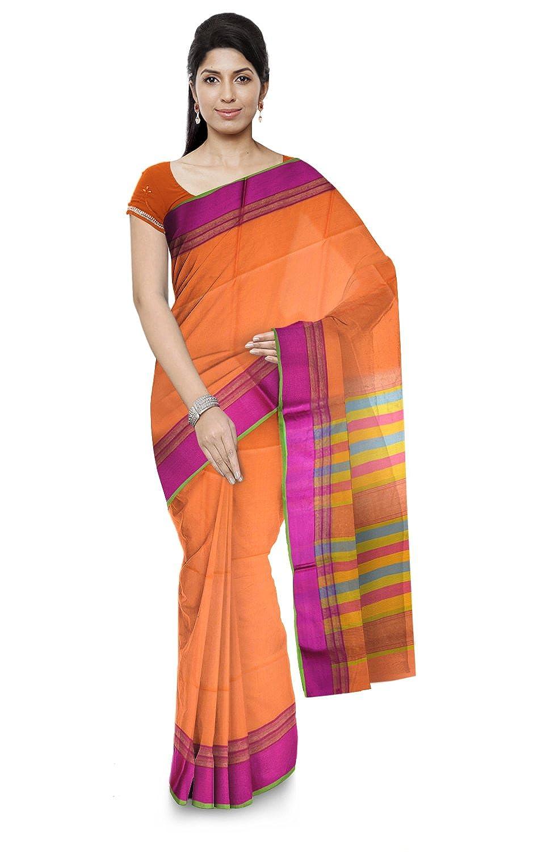 Best Cotton & Silk Handloom Saree with Blouse Piece