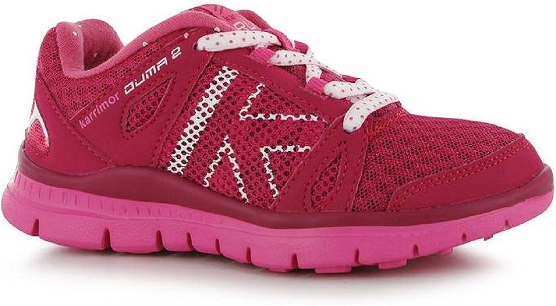 Las niñas Karrimor Duma 2 Zapatillas de Running – Color Rosa Oscuro/Rosa, Color, Talla 31,5 EU: Amazon.es: Zapatos y complementos