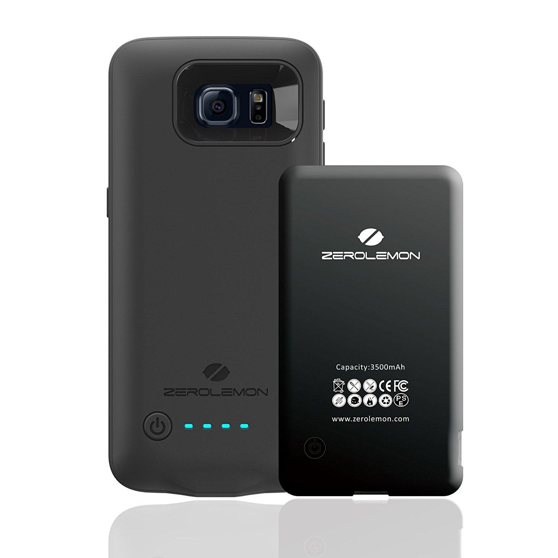Amazon.com: Galaxy S6 Batería Caso, zerolemon Samsung Galaxy ...