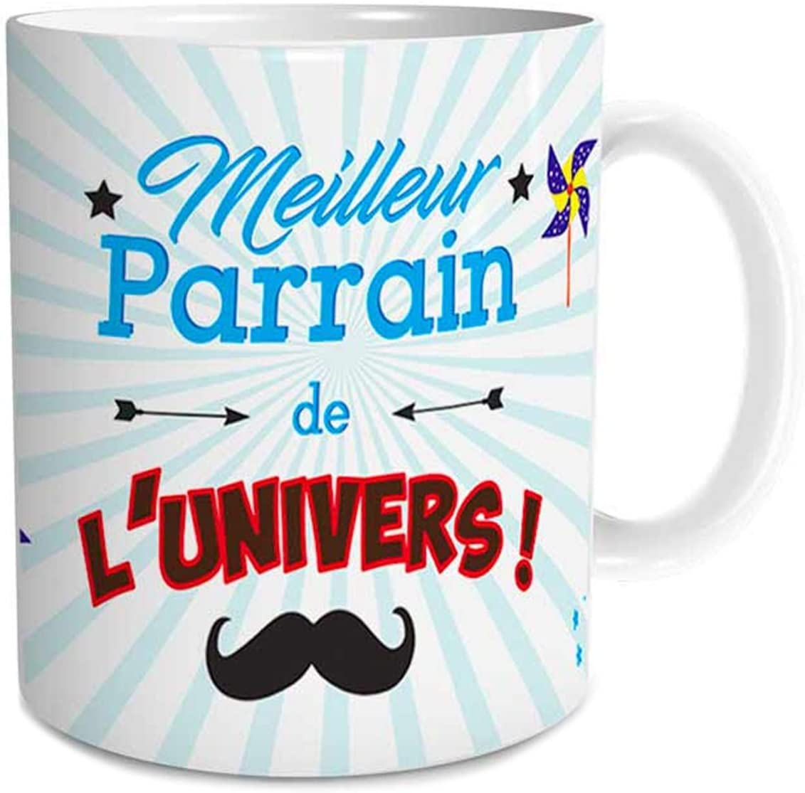 BACOMA CREATIONS MUG Super Parrain