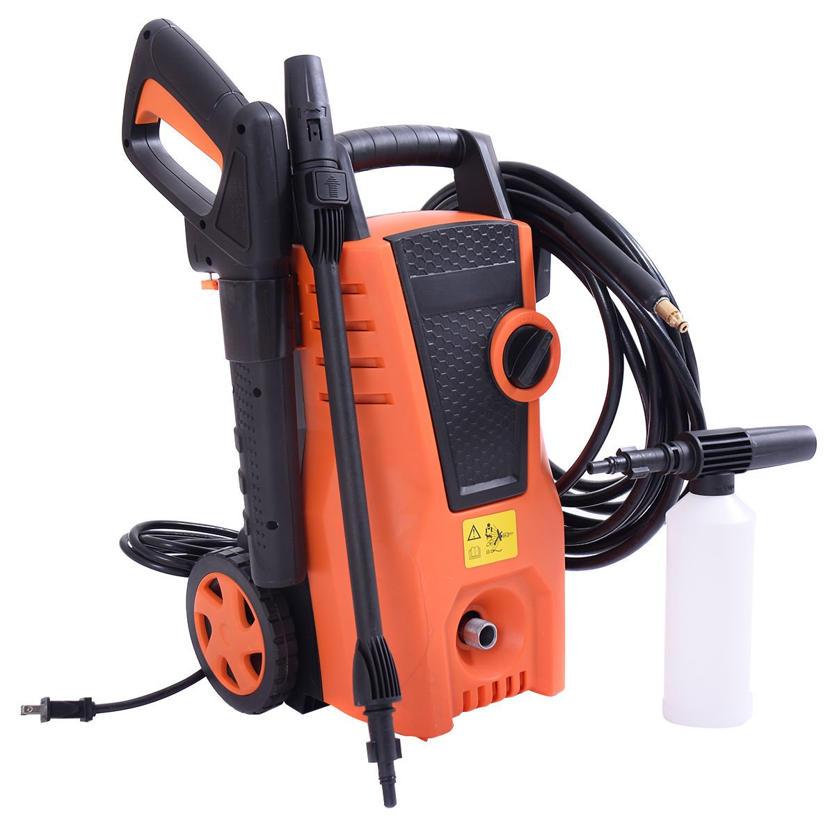 1400PSI Electric High Pressure Washer 2000W 1.6GPM Sprayer Cleaner Machine