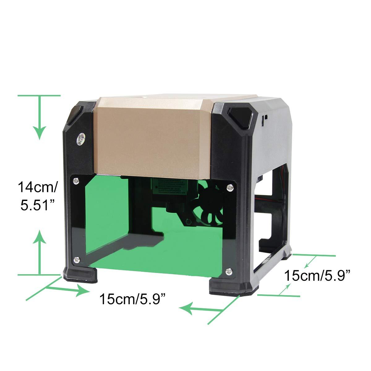 Amazon.com: Wisamic Laser grabadora máquina de grabado ...