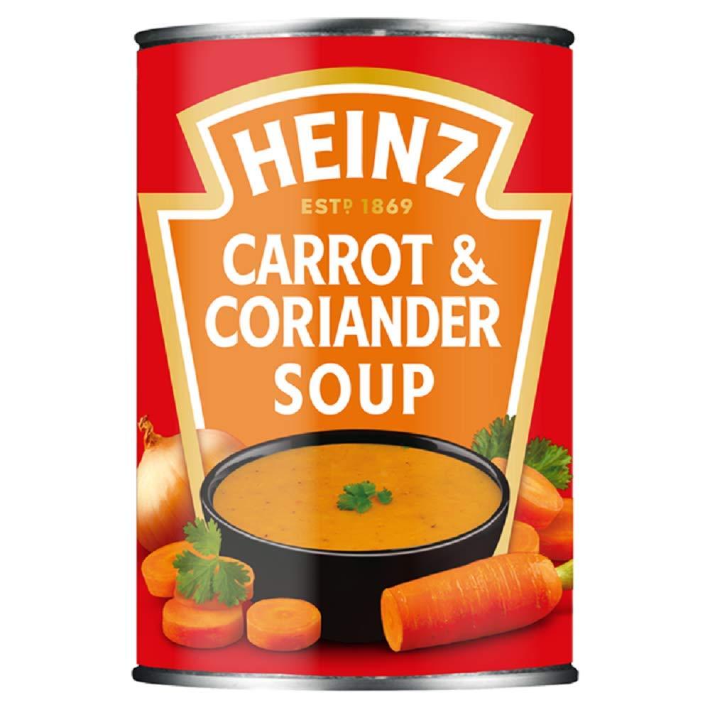 Heinz Classic Carrot & Coriander Soup 400g