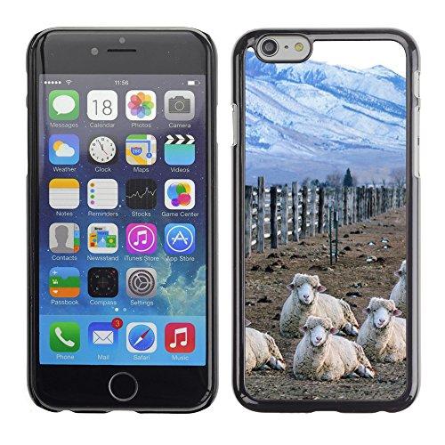 """Premio Sottile Slim Cassa Custodia Case Cover Shell // F00007059 mouton // Apple iPhone 6 6S 6G PLUS 5.5"""""""