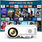 Mini Projector 1080P Supported, 2400 Lumens Full HD Video Projector with 176'' Projector