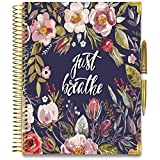 Tools4Wisdom 2020 Planner November 2019-2020 - Gold Edition with Pen - 8.5 x 11 Hardcover - Daily Weekly Monthly Planner - Dated Oct Nov December 2019 Plus 2020 Calendar Year