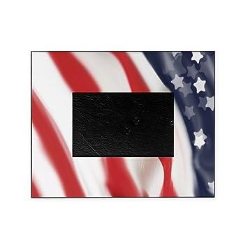 Amazoncom Cafepress Stylized American Flag Decorative 8x10