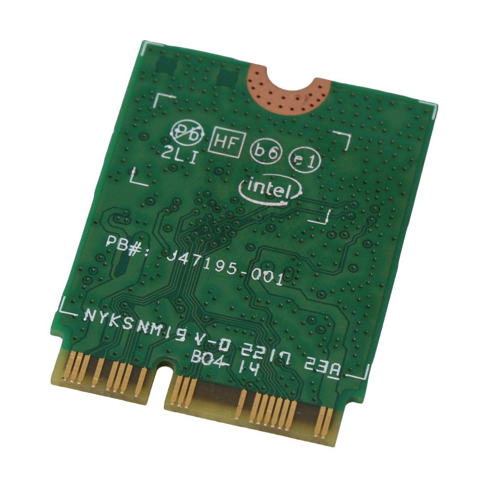 RDEXP Wireless 9560AC Card for Intel 9560NGW NGFF Key E 2000Mbps BT 5.0 Card Supports Windows 10
