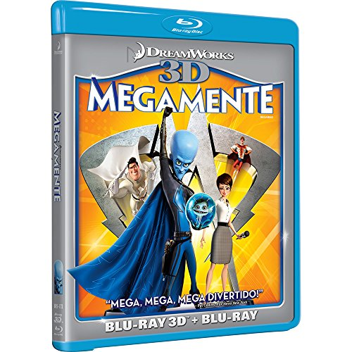 Blu-ray 3D Megamente [ Megamind ] [ Audio and Subtitles in English + Spanish + French + Portuguese ]