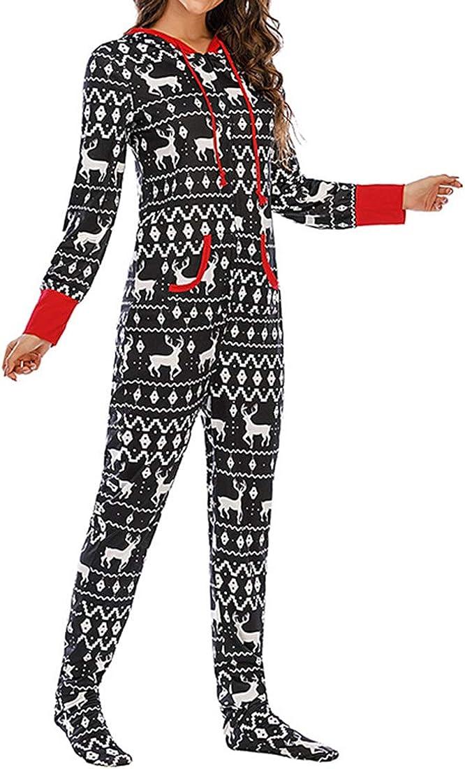 Puimentiua Combinaisons Pyjama Femme Homme Enfant V/êtement de Nuit de Famille No/ël Pyjama Imprim/é Grenouill/ères Pas Cher