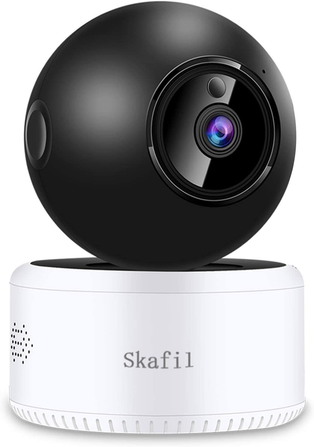 Wireless Security Camera, Skafil Baby Monitor 1080P HD WiFi Home Camera, IP Camera Indoor for Pet, Two-Way Audio, Night Vision, Motion Detection, TF Card Slot and Cloud