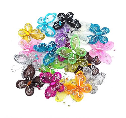 yueton Colorful Butterfly Scrapbook Decoration