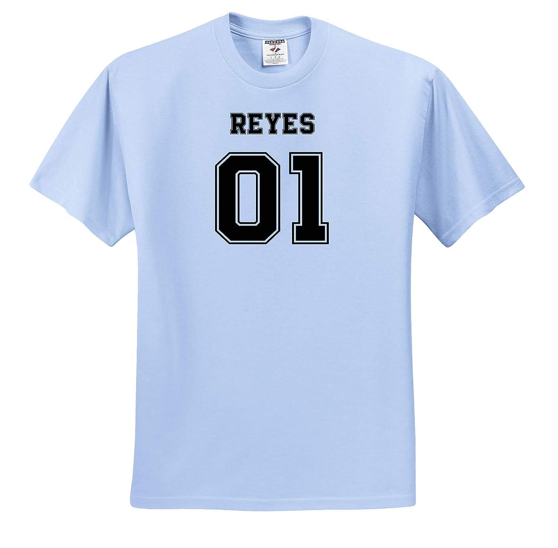 Reyes 01 Hispanic Latino Surname Last Name ts/_319546 3dRose Carsten Reisinger Adult T-Shirt XL Illustrations