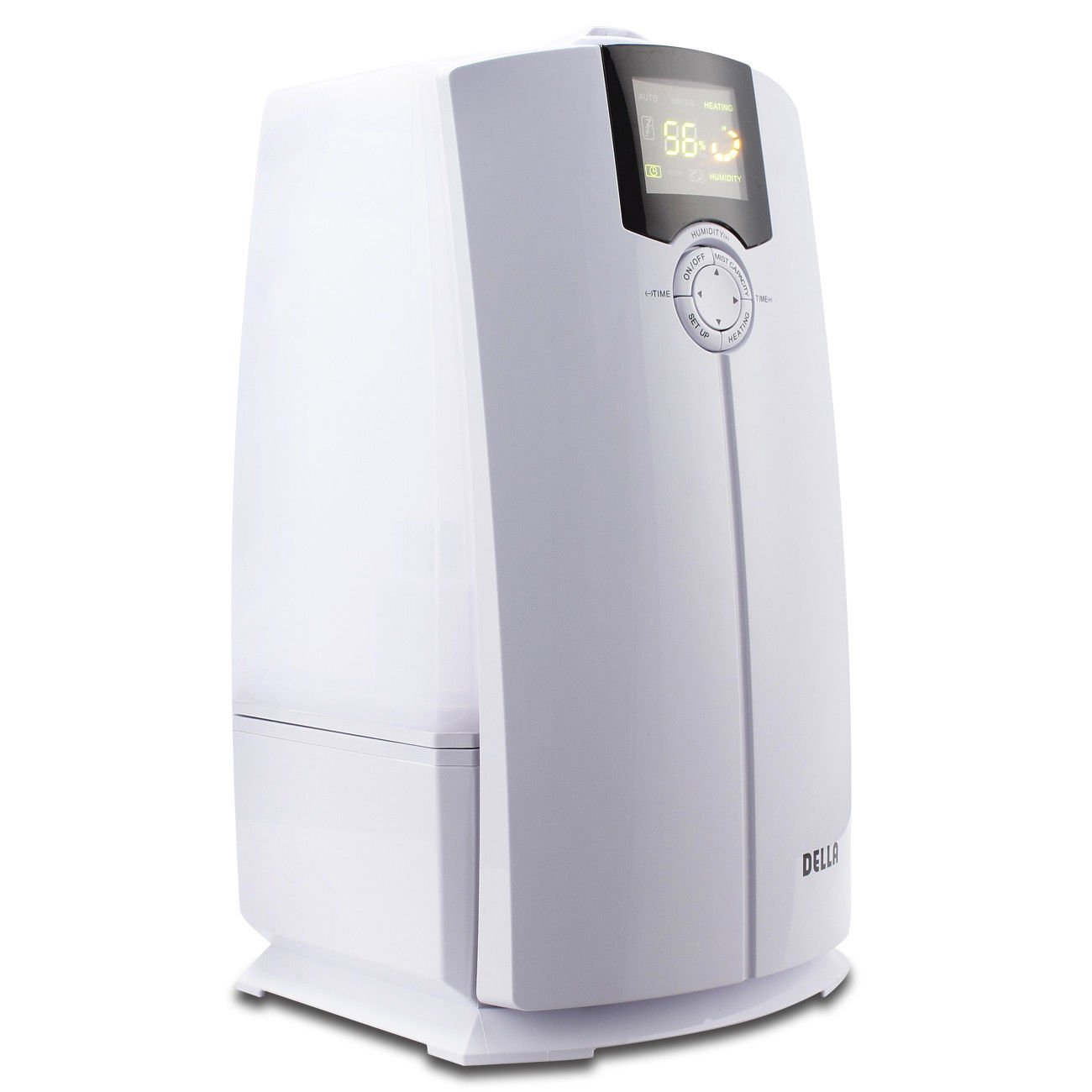 White Air Humidifier With Ebook
