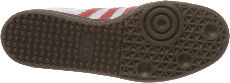 Adidas Herren Samba Og Sneaker Footwear White Trace Scarlet Clear Granite