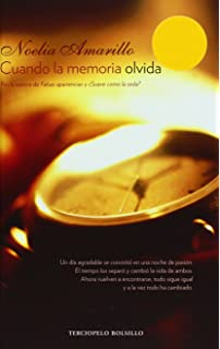 Cuando la memoria olvida (Terciopelo Bolsillo) (Spanish Edition)