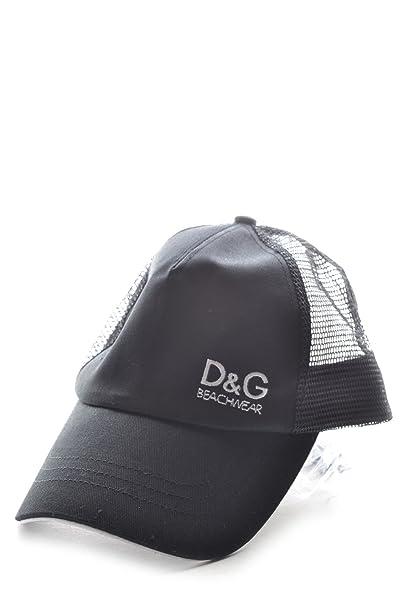 stile popolare bellissimo stile altamente elogiato Dolce & Gabbana Cappello pt465 D&G Uomo/Donna L Nero: Amazon ...