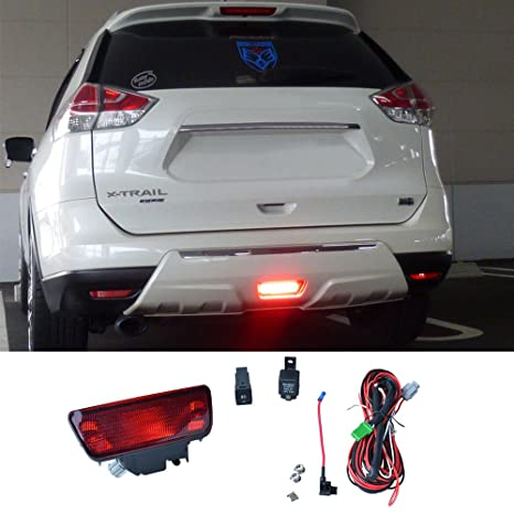 DILIDILI T32 F15 Z52 Rear bumper Fog Light Halogen 21W Whit Red Light on