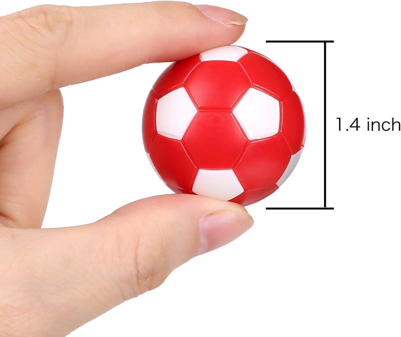 Hongyantech - Juego de 13 pelotas de futbolín (plástico ABS, rígidas y rápidas, diámetro 31 mm, 36 mm): Amazon.es: Deportes y aire libre