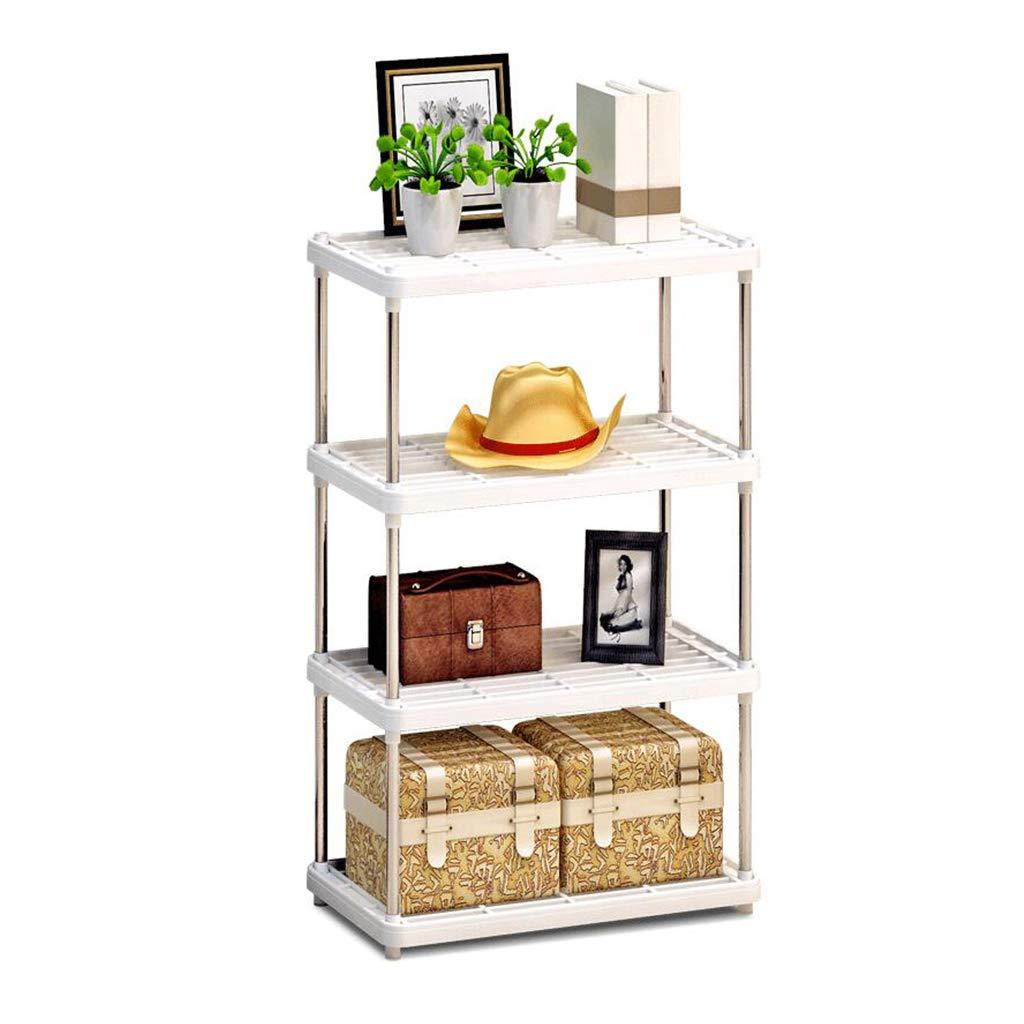 62MJ Floor Storage Rack Office Bookcase Bathroom Living Room Rack by 62MJ