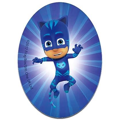 Parches - PJ MASKS Héroes en pijamas CATBOY Disney - azul - 11 x 8 cm