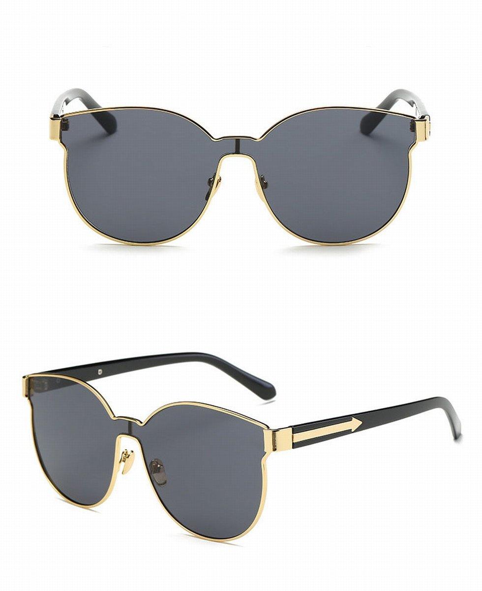 Große rahmen sonnenbrille verbunden Linse individualität Pfeil ...