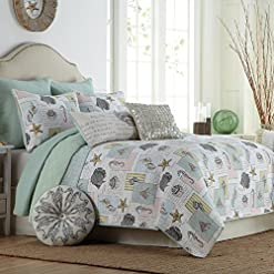 611tx%2BKnBNL._SS247_ Coastal Bedding Sets and Beach Bedding Sets