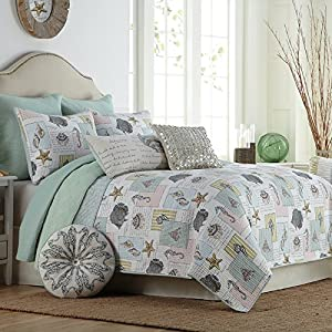 611tx%2BKnBNL._SS300_ 50+ Starfish Bedding Sets and Starfish Quilt Sets