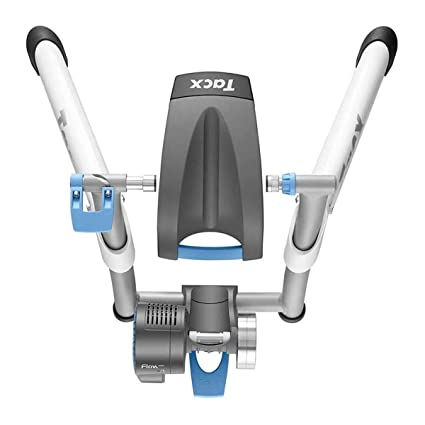 Tacx Flow Smart Trainer, Bluetooth and ANT+ Capable, Ready for Zwift,  Training Base, Electro Brake, Simulate 6% Slope, 800 Watt