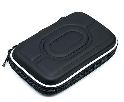 QUMOX Carcasa Dura de HDD Negra de 2.5