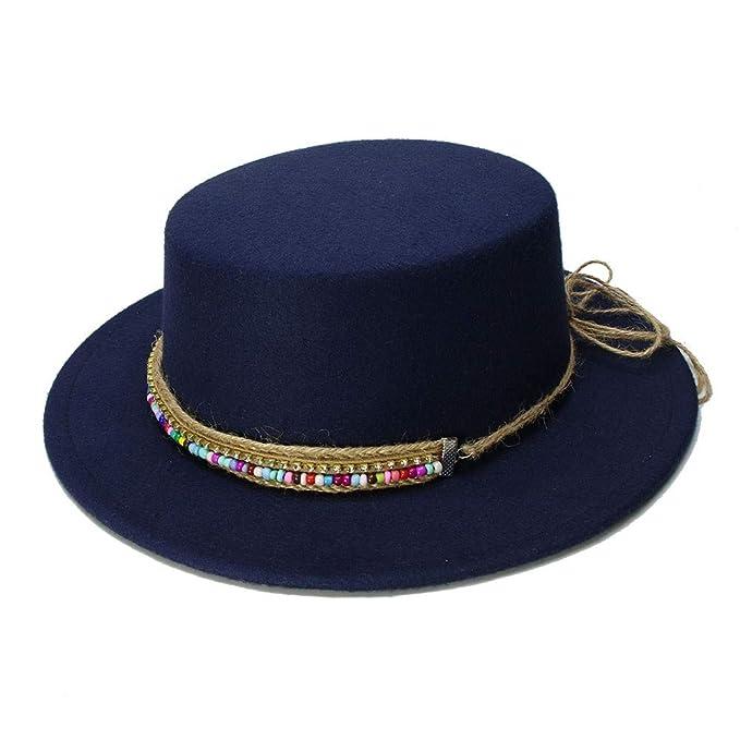 GHC gorras y sombreros Sombrero de ala ancha Sombrero de Fedora Caballero Prok Pie Chapeu de
