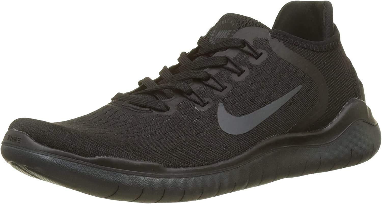 Nike Women's Running Shoes, Rosa Nero Black Black Anthracite 002