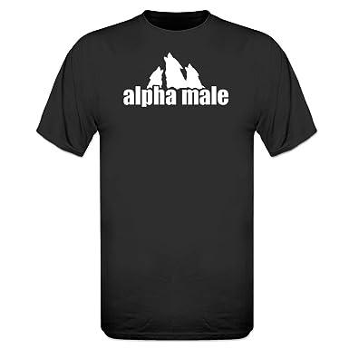 fa5d7b96d5c7 Shirtcity Alpha Male T-Shirt: Amazon.co.uk: Clothing
