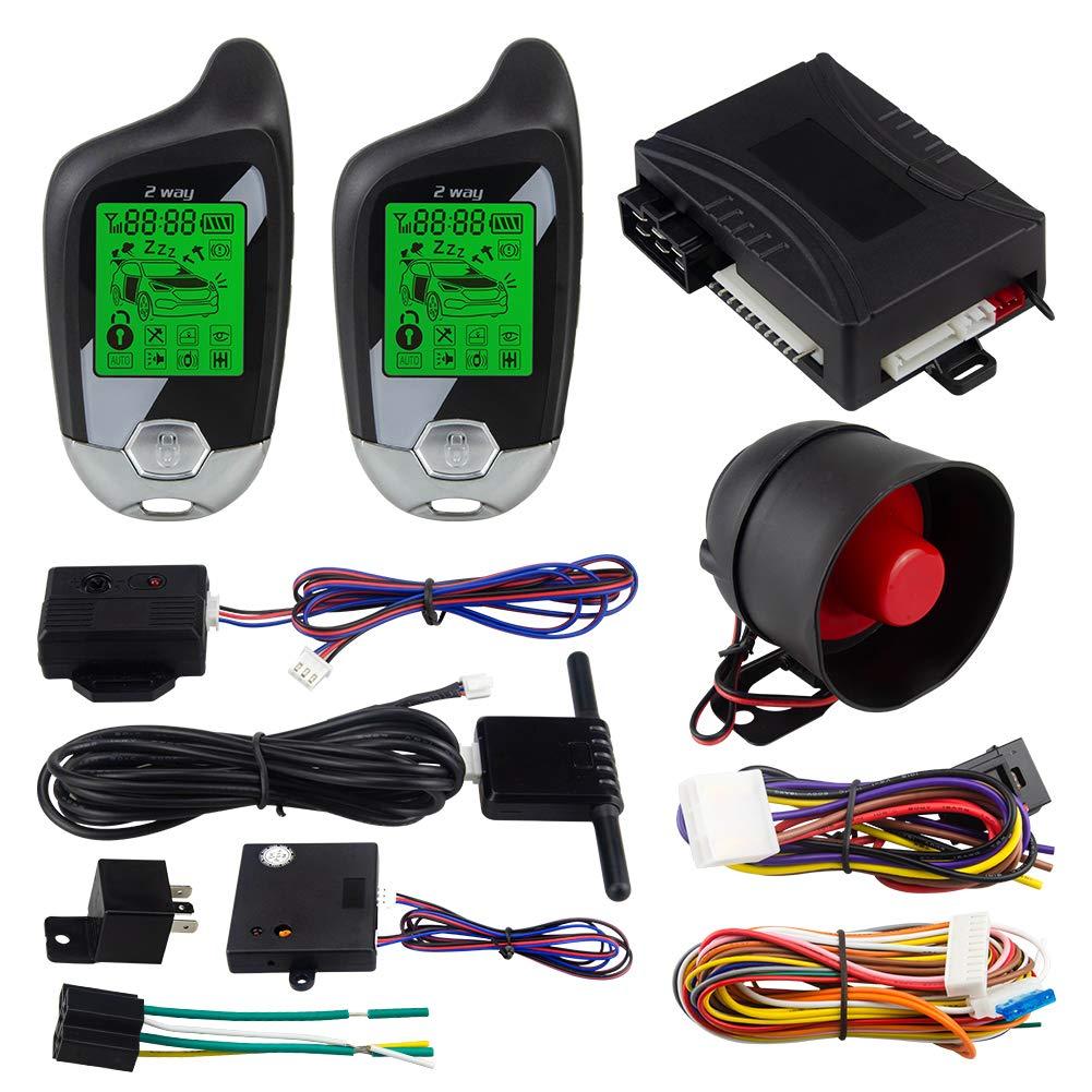 EASYGUARD EC202 - Sistema de Alarma de 2 vías para Coche con ...