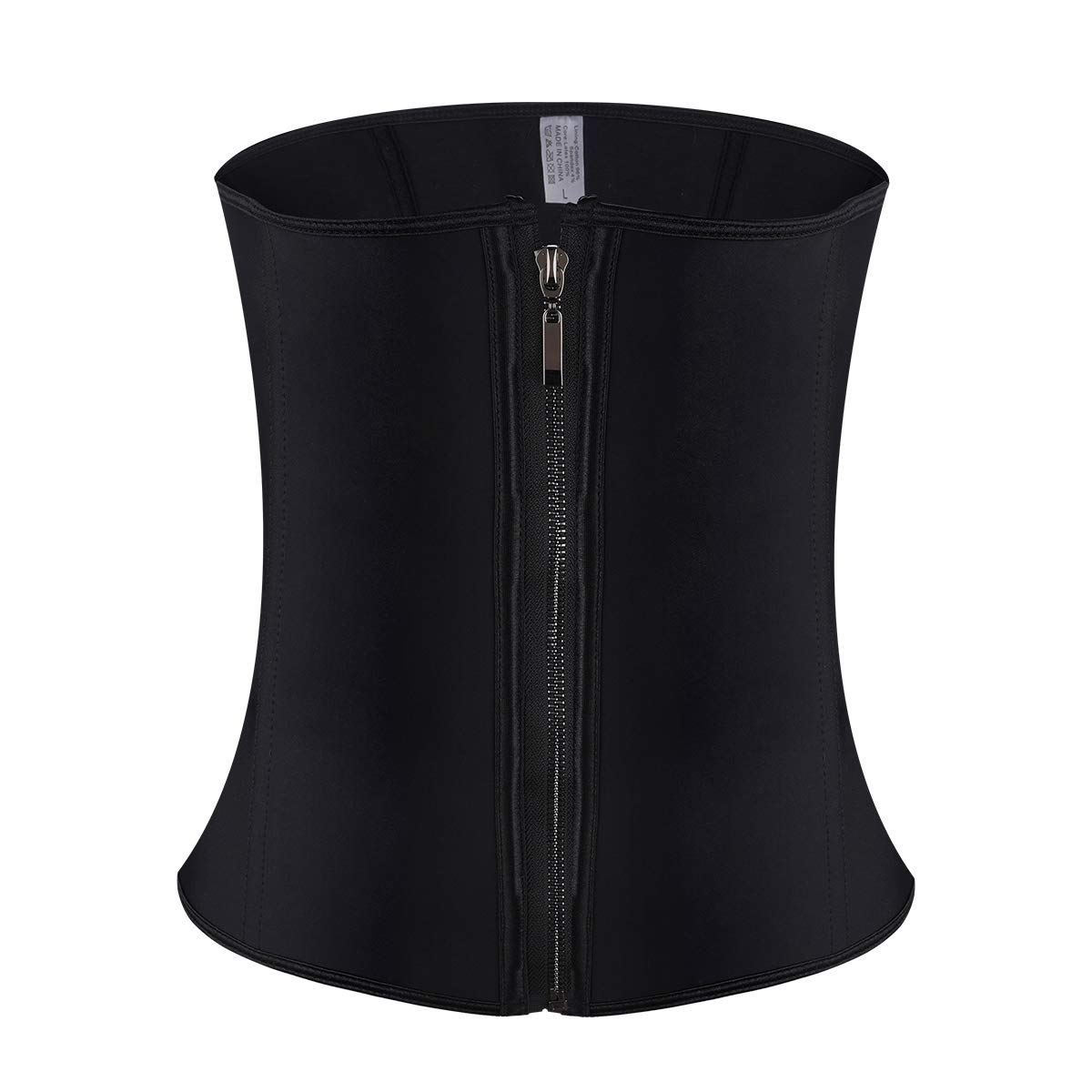 SUMEIYAN Womens Steel Boned Waist Trainer Belt with Zipper and Hooks for Weight Loss