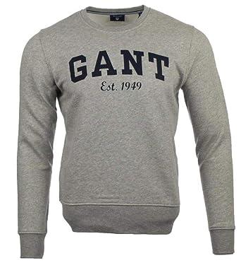 GANT Herren Rundhals Pullover: : Bekleidung