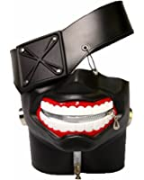 Rulercosplay Tokyo Ghoul Kaneki Ken 3D PU Leather Mask Cosplay Mask