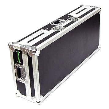 Cablematic - Mesa DJ tipo cofre para 2 CD y mezclador de RackMatic ...