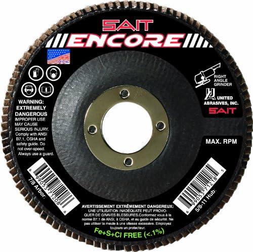 United Abrasives-SAIT 35132 220X 8-Inch Pressure Sensitive Adhesive Disc 25 Pack