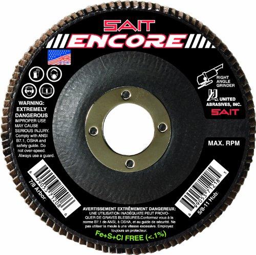 United Abrasives-SAIT 71208 Type 27 Encore Flap