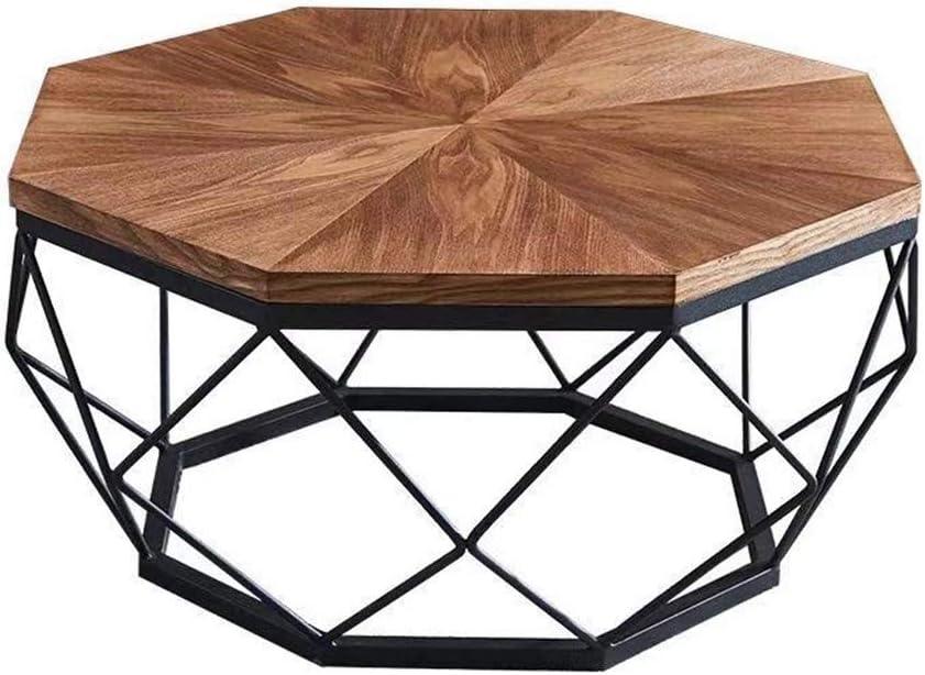 Fabrieksprijs Salontafel van natuurlijk hout, met Scandinavische bijzettafeltjes, waterdicht, eenvoudige montage, consoletafel, bijzettafel voor woonkamer  Oro rosa + oro rosa 4maakQ6
