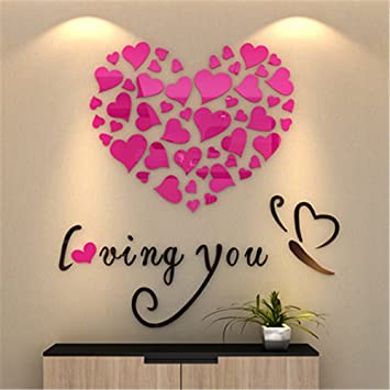 Every love story is beautiful valentines day Sticker vinyl box Frame colours