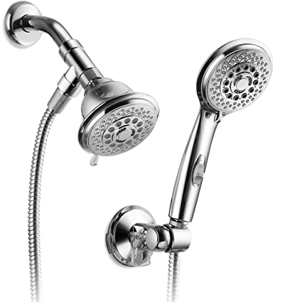AquaCare By HotelSpa 36 Setting Shower Head/Handheld Shower Combo With  Revolutionary Hydro