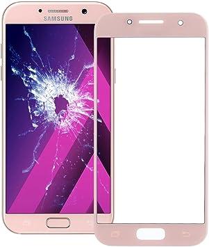 Piezas de repuesto para teléfonos móviles, IPartsBuy para Samsung Galaxy A5 (2017) / A520 Lente de Cristal Exterior para Pantalla Frontal (Color : Rosa) : Amazon.es: Electrónica