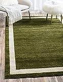 """Unique Loom Del Mar Collection Green 8 x 11 Area Rug (8' x 11' 4"""")"""