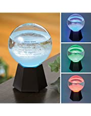 Bits and Pieces - Color Changing Fitzroy Storm Globe - Light-Up Barometer Predicts Weather in Your Area