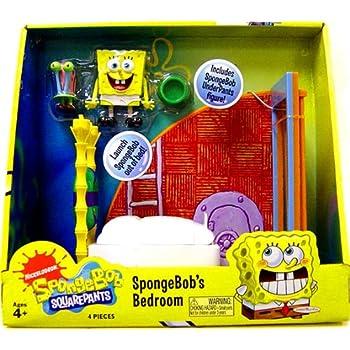 Spongebob Squarepants Bedroom Play Set