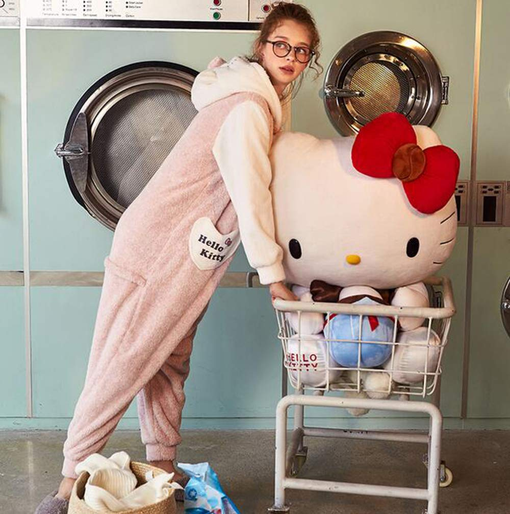 OLLIUGE Pijamas para Mujer Ropa De Dormir Conjunto De Pijamas Invierno Señoras Franela Ropa De Noche Onesies Grueso Vellón Coral Caricatura Conejo Dulce: ...